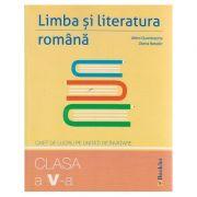 Limba si literatura romana clasa a V-a caiet de lucru pe unitati de invatare ( Editura: Booklet, Autor: Mimi Dumitrache, Diana Basalic ISBN 9786065903876 )