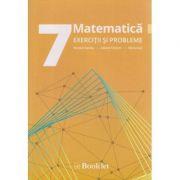 Matematica exercitii si probleme pentru clasa a 7 a ( Editura: Booklet, Autor: Nicolae Sanda, Iuliana Chilom, Maria Sas ISBN 978-606-590-423-1 )