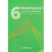 Matematica exercitii si probleme pentru clasa a 6 - a ( Editura: Booklet, Autor: Nicolae Sanda, Adela Cotul, Valer Pop ISBN 978-606-590-422-4 )