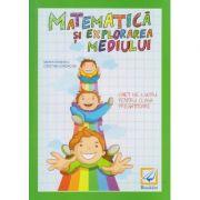 Matematica si explorarea mediului caiet de lucru pentru clasa pregatitoare ( Editura: Booklet, Autor: Maria Ionescu, Cristina Iordache ISBN 978-606-590-392-0 )