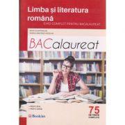 Limba si literatura romana Bacalaureat 75 de teste complete ( Editura: Booklet, Autor: Mimi Dumitrache, Dorica Boltasu Nicolae ISBN 978-606-590-386-9 )