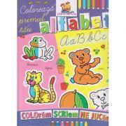 Coloreaza primul tau alfabet ( Editura: Lizuka Edicativ ISBN 978-606-8714-06-6 )
