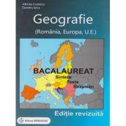 Geografie Bacalaureat 2016 Editie Revizuita ( Editura: Gimnasium, Autor: Albinita Costescu, Dumitru Iarca ISBN 978-973-7992-71-0 )
