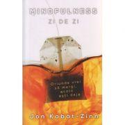 Mindfulness zi de zi ( Editura: Herald, Autor: Jon Kabat - Zinn ISBN 978-973-111-617-4 )