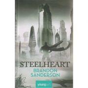 Steelheart ( Prima carte din seria Razbunatorilor ) ( Editura: Art Grup Editorial, Autor: Brandon Sanderson ISBN 978-606-8811-15-4 )
