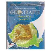 Geografie manual pentru clasa a IV-a Semestrul I + Semestrul II + CD multimedia ( Pitila ) ( Editura: Aramis, Autor: Cleopatra Mihailescu, Tudora Pitila ISBN 978606-706-517-6 )