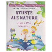Stiinte ale naturii manual pentru clasa a IV-a Semestrul I + Semestrul II + CD Multimedia ( Pitila ) ( Editura: Aramis, Autor: Tudora Pitila, Cleopatra Mihailescu ISBN 978-606-706-498-8 )