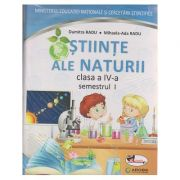 Stiinte ale naturii manual pentru clasa a IV-a Semestrul I + Semestrul II + CD multimedia ( Radu ) ( Editura: Aramis, Autor: Dumitra Radu, Mihaela-Ada Radu ISBN 978-606-706-503-9 )