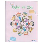 English for kids caiet de lucru clasa I ( alb-negru ) ( Editura: Booklet, Autor: Cristina Mircea ISBN 978-606-590-243-5 )