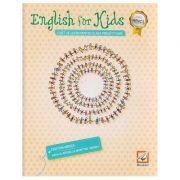 English for Kids Caiet de lucru pentru clasa pregatitoare ( alb-negru ) ( Editura: Booklet, Autor: Cristina Mircea ISBN 978-606-590-380-7 )