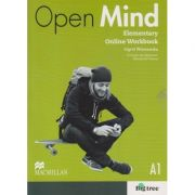 Open Mind Elementary Online Workbook Level A1 ( Editura: Macmillan, Autor: Ingrid Wisniewka ISBN 9780230458734 )