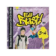 Full Blast 3-4 Teacher s Resource CD/CD-ROM ( Editura: MM Publications, Autor: H. Q. Mitchell ISBN 9789605739164 )