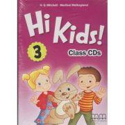 Hi Kids 3 Class CD s ( Editura: MM Publications, Autor: H. Q. Mitchell, Marileni Malkogianni ISBN 9789605737276 )