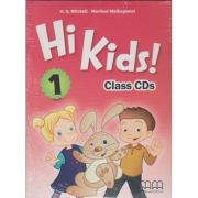 Hi Kids 1 Class CD s ( Editura: MM Publications, Autor: H. Q. Mitchell, Marileni Malkogianni ISBN 978-960-573-721-4 )
