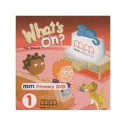 What s on 1 DVD PAL ( Editura: MM Publications, Autor: H. Q. Mitchell ISBN 978-960-443-139-7 )