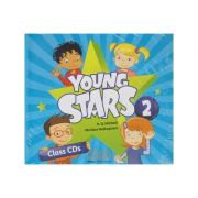 Young Stars 2 Class CD s ( Editura: MM Publications, Autor: H. Q. Mitchell, Marileni Malkogianni ISBN 978-960-573-738-2 )