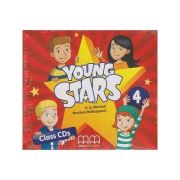 Young Stars 4 Class CD s ( Editura: MM Publications, Autor: H. Q. Mitchell, Marileni Malkogianni ISBN 978-960-573-744-3 )