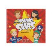 Young Stars 4 Class CD s ( Editura: MM Publications, Autor: H. Q. Mitchell, Marileni Malkogianni ISBN 9789605737443 )