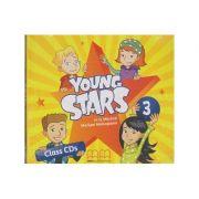 Young Stars 3 Class CD s ( Editura: MM Publications, Autor: H. Q. Mitchell, Marileni Malkogianni ISBN 9789605737412 )