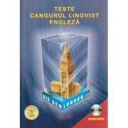 Teste Cangurul Lingvist Engleza + CD audio inclus ( Editura: Sigma ISBN 978-606-727-214-7 )