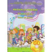 Muzica si miscare clasa a IV-a caiet de lucru ( Editura: Ars Libri, Autor: Adina Grigore, Cristina Ipate-Toma, Cornelia Ionescu ISBN 978-606-36-0032-6 )