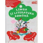 Limba si literatura romana Manual pentru clasa a IV-a Semestrul II + CD ( Editura: Art Grup Editorial, Autor: Alina Radu, Roxana Jeler ISBN 978-606-710-425-7 )