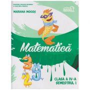 Matematica pentru clasa a IV-a Semestrul I + CD ( Editura: Art Grup Editorial, Autor: Mariana Mogos ISBN 978-606-710-392-2 )