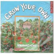 Grow Your Own (Nasturtiums) ( Editura: Outlet - carte limba engleza, Illustrated and designed by Ley Honor Roberts ISBN 1-903-91937-1 )