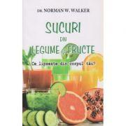 Sucuri din legume si fructe ( Editura: Adevar Divin, Autor: Norman W. Walker ISBN 978-606-8420-96-7 )