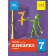 Clubul Matematicienilor clasa a 7 a semestrul 1 ( Editura: Art, Autor: Marius Perianu, Ioan Balica, Dumitru Savulescu ISBN 9786060030645 )