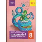 Matematica Evaluare Nationala 2018 clasa a 8 a ( Editura: Art Grup Educational, Autor: Marius Perianu, Catalin Stanica, Cristina Lazar ISBN 978-606-8948-47-8 )