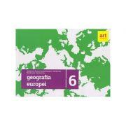 Geografia Europei clasa a 6 a 2017 ( Editura: Art Grup Educational, Autor: Steluta Dan, Carmen Camelia Radulescu, Zamfir Datcu ISBN 9786069448557 )