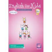English for Kids Caiet de lucru pentru clasa a 4 a Editie Color 2019 ( Editura: Booklet, Autor: Elena Sticlea ISBN 9786065908130 )