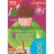 Initiere 2017 Matematic pentru clasa a 8 a Caiet de lucru Semestrul 1 ( Editura: Paralela 45, Autor: Ion Tudor ISBN 9789734725991 )