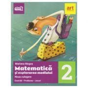 Noua culegere de Matematica si explorarea mediului clasa 2 ( Editura: Art Grup Educational, Autor: Mariana Mogos ISBN 978-606-8948-04-1 )