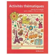 Activitites thematique exercitii de vocabular pentru clasele a 7 a si a 8 a ( Editura: Booklet, Autor: Gina Belabed ISBN 978-606-590-438-5 )