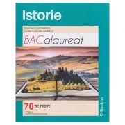 Istorie Bacalaureat 70 de teste 2017 ( Editura: Booklet, Autor (i): Ramona Diaconescu, Camil-Gabriel Ionescu ISBN 978-606-590-477-4 )