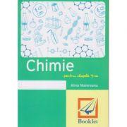Memorator Chimie pentru clasele 9-12 ( Editura: Booklet, Autor: Alina Maiereanu ISBN 978-606-590-328-9 )