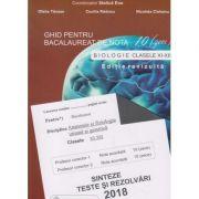 Ghid pentru bacalaureat de nota 10 la: Biologie clasele XI - XII ( Anatomie si fiziologie umana si genetica ) - sinteze teste si rezolvari 2018( editura: Gimnasium, autor: Stelica Ene, ISBN 978-973-7992-64-2 )