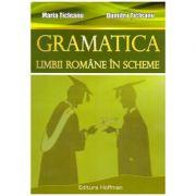 Gramatica limbii romane in scheme ( editura: Hoffman, autor: Maria Ticleanu, Dumitru Ticleanu, ISBN 978-606-615-659-2 )