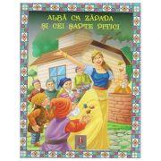 COLECTIA ILUSTRATE CU LITERE MARI Alba ca Zapada si cei sapte pitici ( Editura: Astro ISBN 978-606-8660-25-7 )