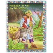 COLECTIA ILUSTRATE CU LITERE MARI Alibaba si cei 40 de hoti ( Editura: Astro ISBN 978-606-8148-10-6 )