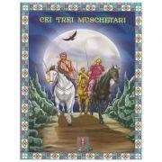 COLECTIA ILUSTRATE CU LITERE MARI Cei trei muschetari ( Editura: Astro ISBN 978-606-8148-17-5 )