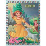 COLECTIA ILUSTRATE CU LITERE MARI Heidi ( Editura: Astro ISBN 978-606-8660-23-3 )