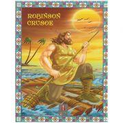 COLECTIA ILUSTRATE CU LITERE MARI Robinson Crusoe ( Editura: Astro ISBN 978-606-8148-15-1 )