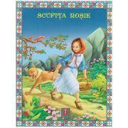 COLECTIA ILUSTRATE CU LITERE MARI Scufita Rosie ( Editura: Astro ISBN 978-606-8148-11-3 )