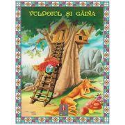 COLECTIA ILUSTRATE CU LITERE MARI Vulpoiul si gaina ( Editura: Astro ISBN 978-606-8148-14-4 )