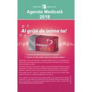 Agenda Medicala 2018 ( editura: Medicala, autori: Prof. Univ. Dr. Farm. Cornel Chirita in colaborare cu Asist. Univ. Farm., drd. Cristina Daniela Marineci ISBN 001224-7340 )