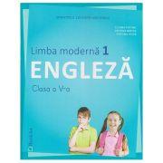 Limba Moderna 1 Engleza clasa a 5 a + CD ( Editura: Booklet, Autor: Liliana Putinei, Cristina Mircea, Cristina Truta ISBN 978-606-590-552-8 )