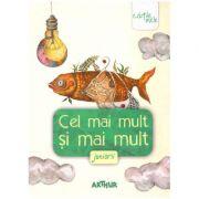 Cel mai mult si mai mult. Juniorii ( editura: Arthur, autori: Florentina Sâmihăian, Liviu Papadima (coordonatori) ISBN 978-606-788-282-7 )